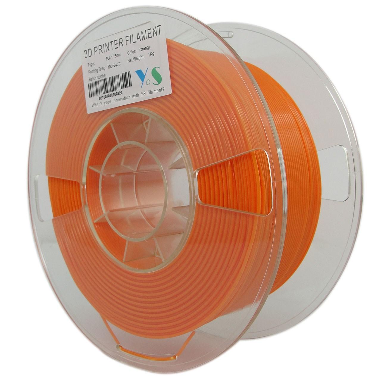 قیمت                      فیلامنت پرینتر سه بعدی PLA  یوسو  نارنجی 1.75 میلیمتر  1 کیلو