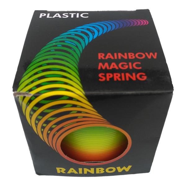 فنر بازی جادویی اسلینکی مدل رنگین کمان بسته 3 عددی