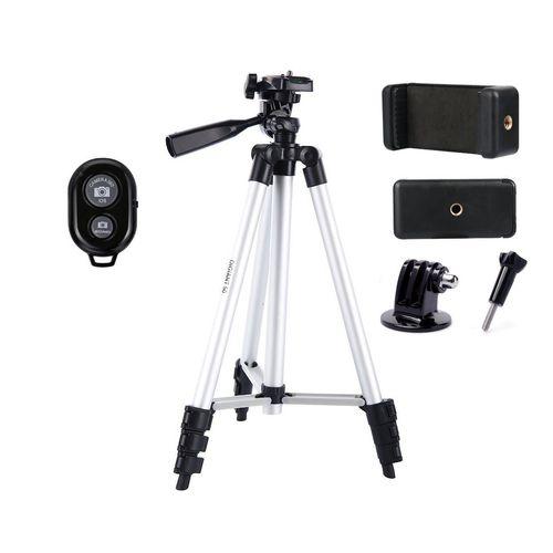 سه پایه و شاتر دوربین مدل T12