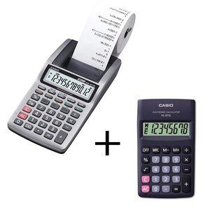 ماشین حساب کاسیو HR-8TM به همراه ماشین حساب کاسیو HL-815L