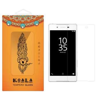 محافظ صفحه نمایش شیشه ای کوالا مدل Tempered مناسب برای گوشی موبایل سونی Xperia Z5
