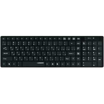 کیبورد بی سیم گرین مدل GK-101W با حروف فارسی | Green GK-101W Wireless Keyboard With Persian Letters