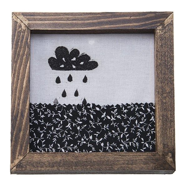 تابلو چوبی چاپ دستی روی پارچه گالری هور نقش 9