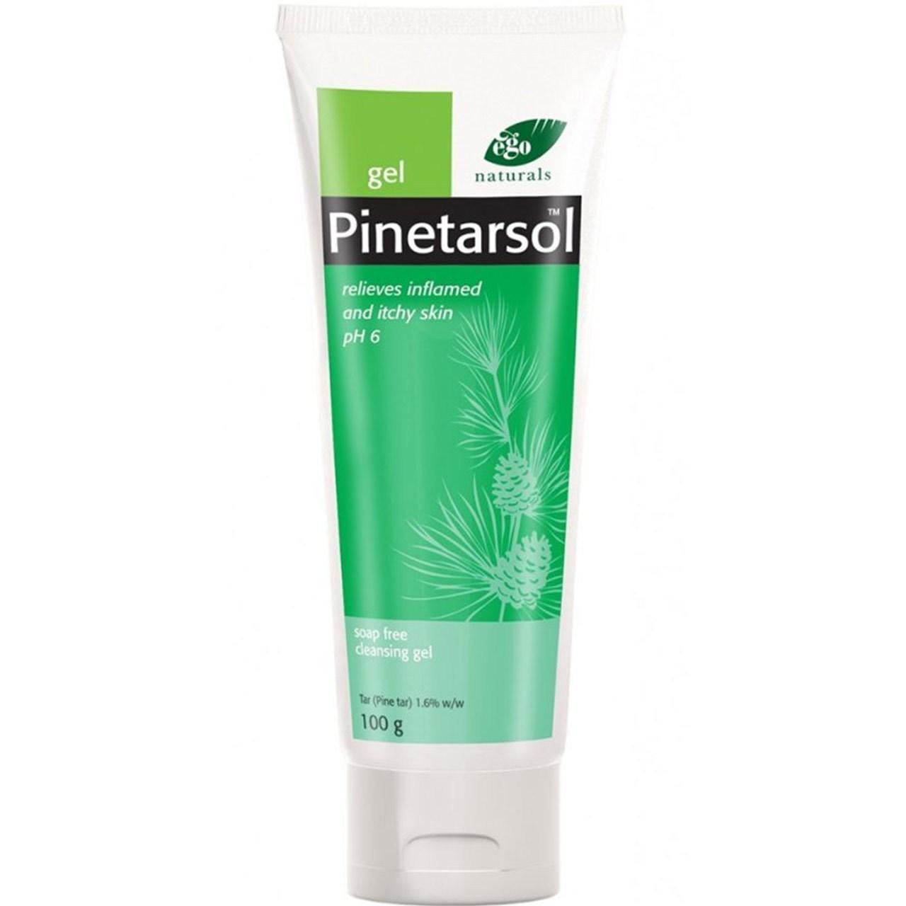 قیمت ژل پاک کننده صورت و بدن ایگو مدل Pinetarsol مقدار 100 گرم