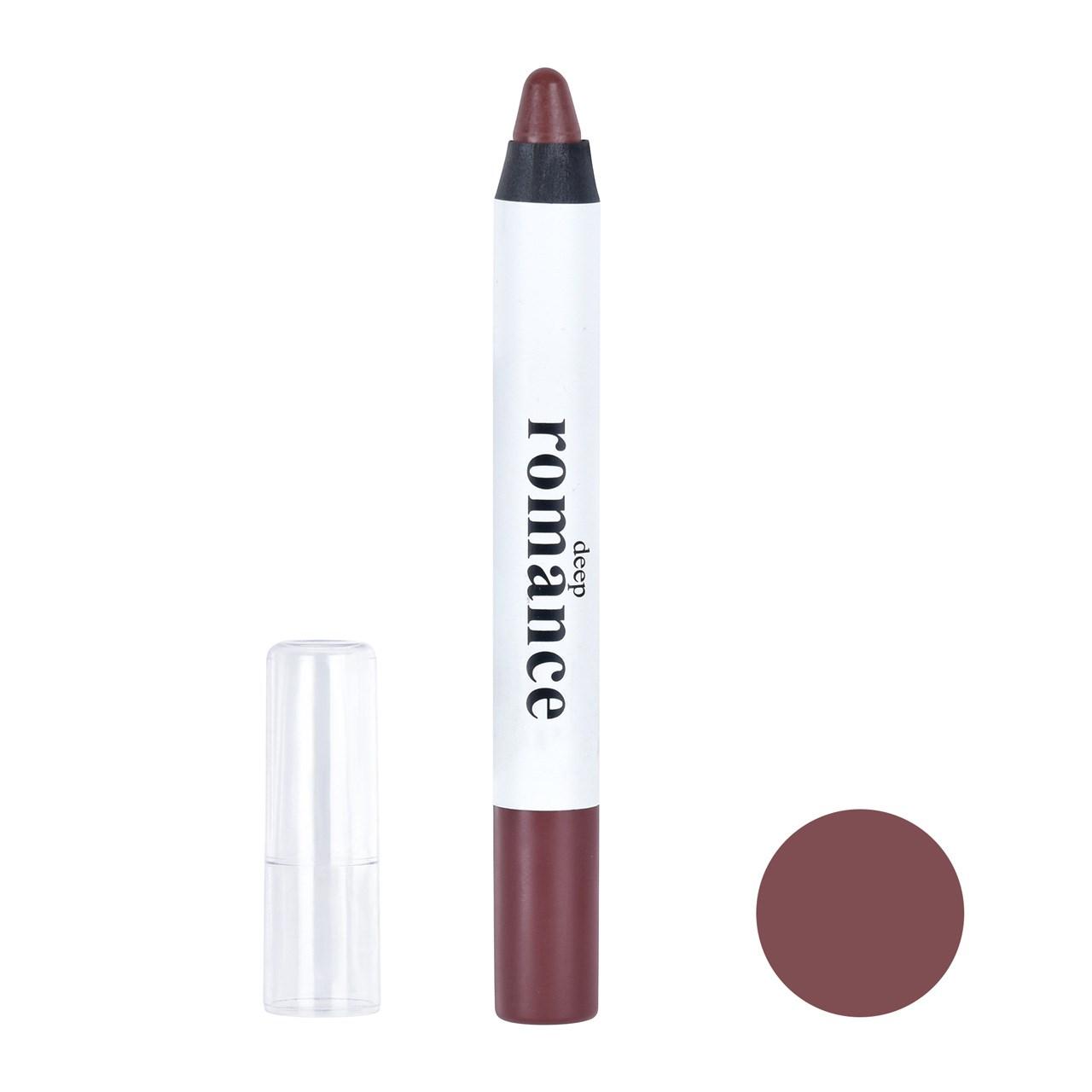 راهنمای خرید رژ لب مدادی دیپ رومانس مدل DR-10 - شماره 203 لیست قیمت
