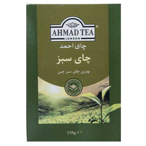 چای سبز احمد بسته 250 گرمی