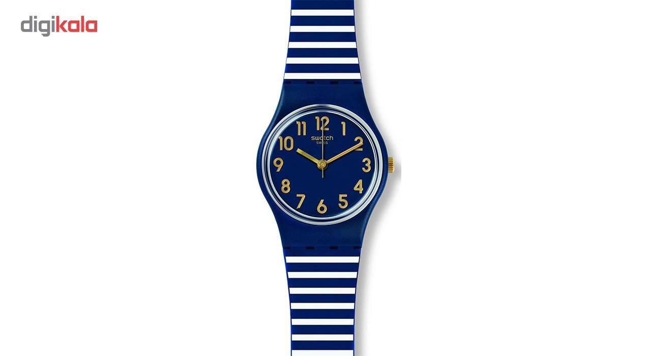 ساعت مچی عقربه ای زنانه سواچ مدل LN153 -  - 2