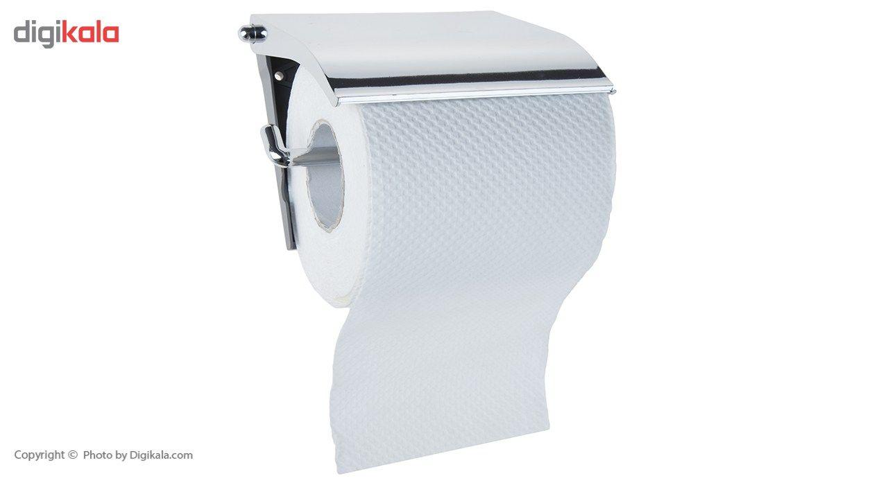 جای دستمال توالت سنی پلاستیک مدل Sarv main 1 1