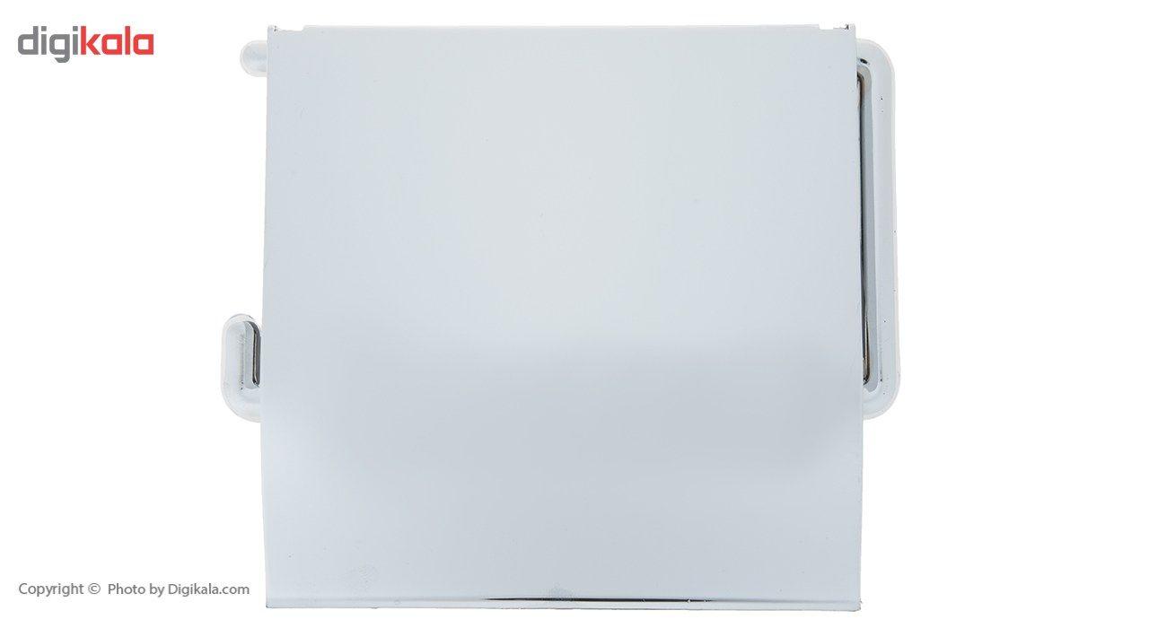جای دستمال توالت سنی پلاستیک مدل Sarv main 1 2