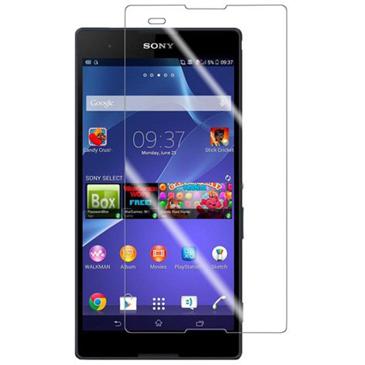 محافظ صفحه نمایش شیشه ای مدل Tempered مناسب برای گوشی موبایل سونی T2