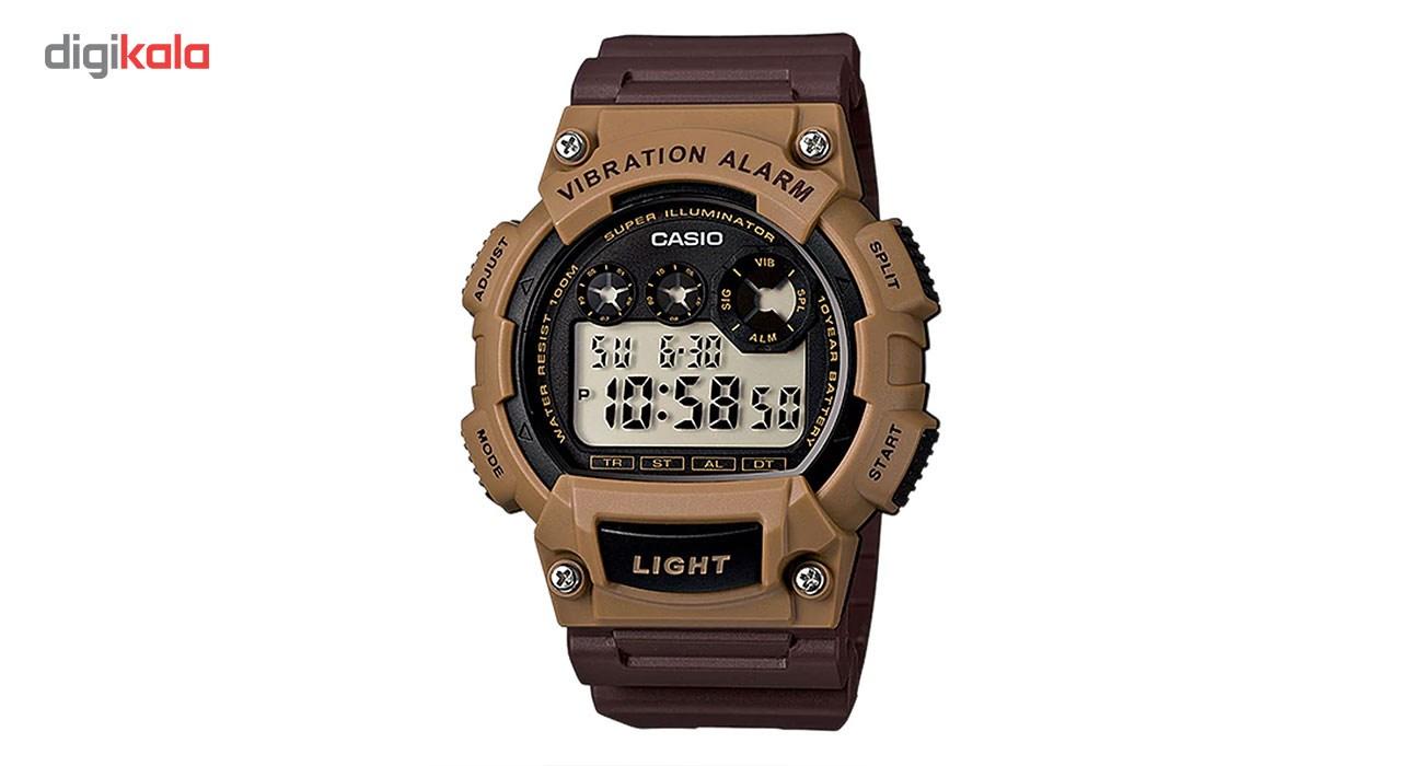 خرید ساعت مچی دیجیتالی مردانه کاسیو مدل  W-735H-5AVDF | ساعت مچی