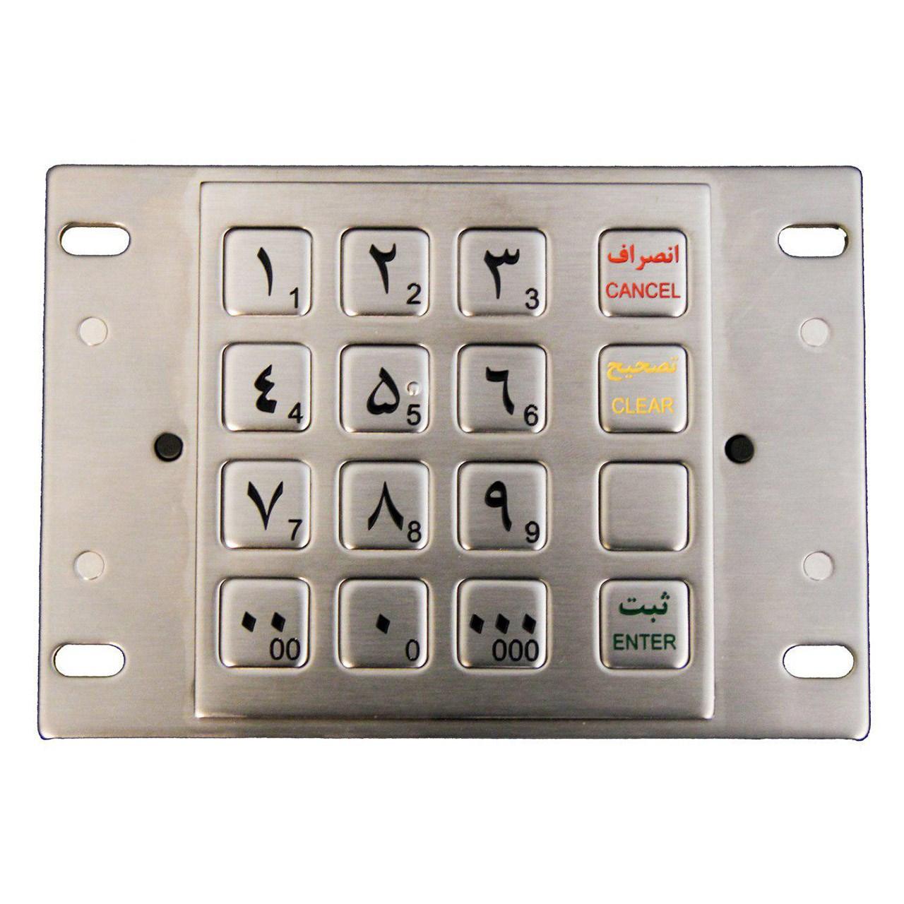 صفحه کلید دستگاه های خودپرداز