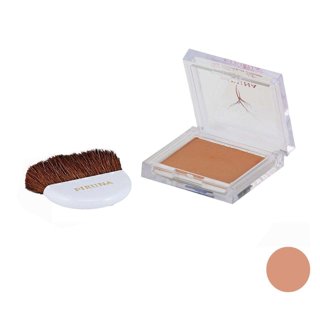 رژگونه پیرونا مدل تک رنگ با مواد معدنی شماره 05