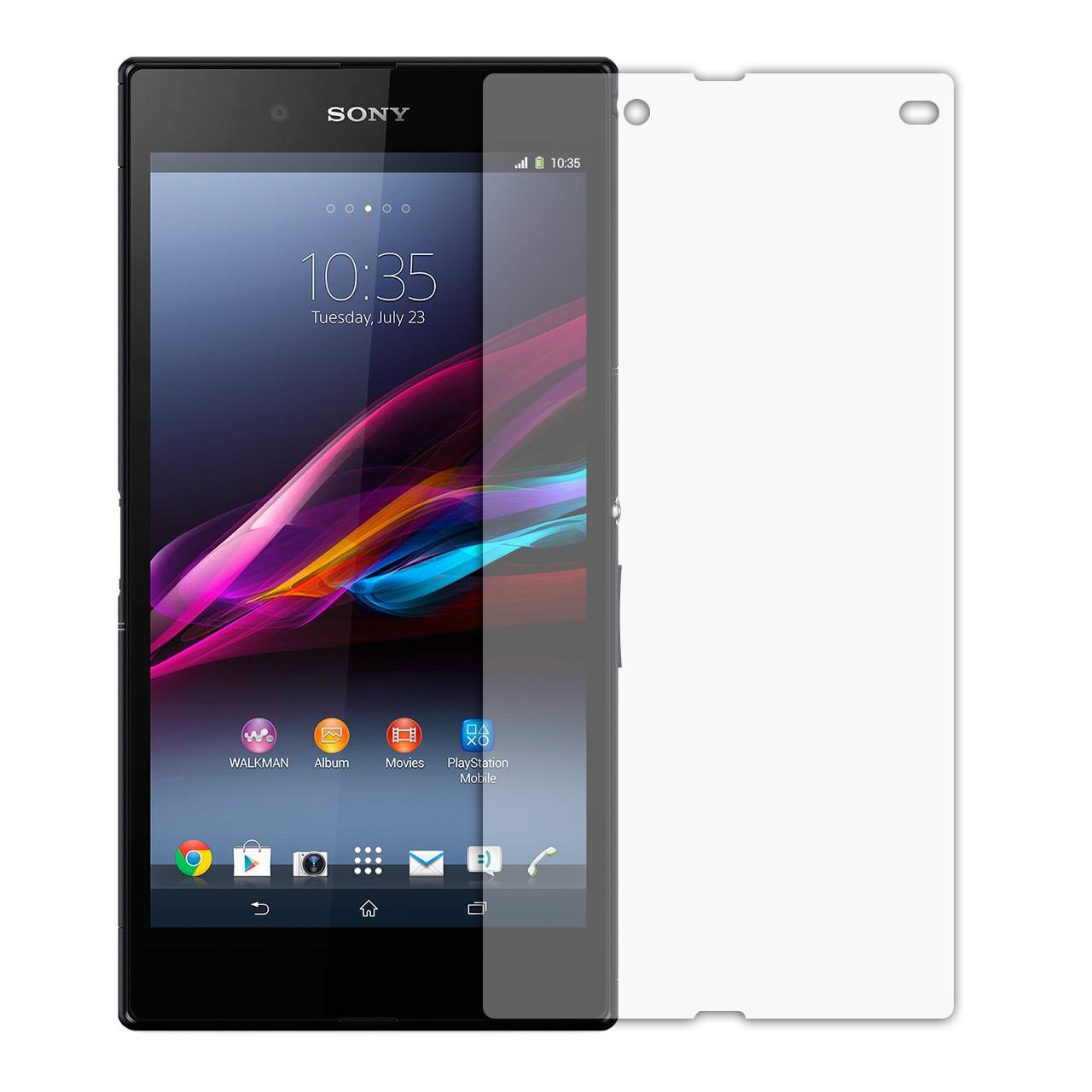 محافظ صفحه نمایش شیشه ای مدل Tempered مناسب برای گوشی موبایل سونی Xperia Z