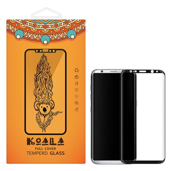 محافظ صفحه نمایش شیشه ای کوالا مدل Full Cover مناسب برای گوشی موبایل سامسونگ Galaxy S8