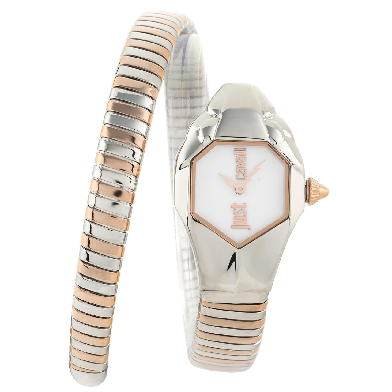 ساعت مچی عقربه ای زنانه جاست کاوالی مدل JC1L001M0045 25