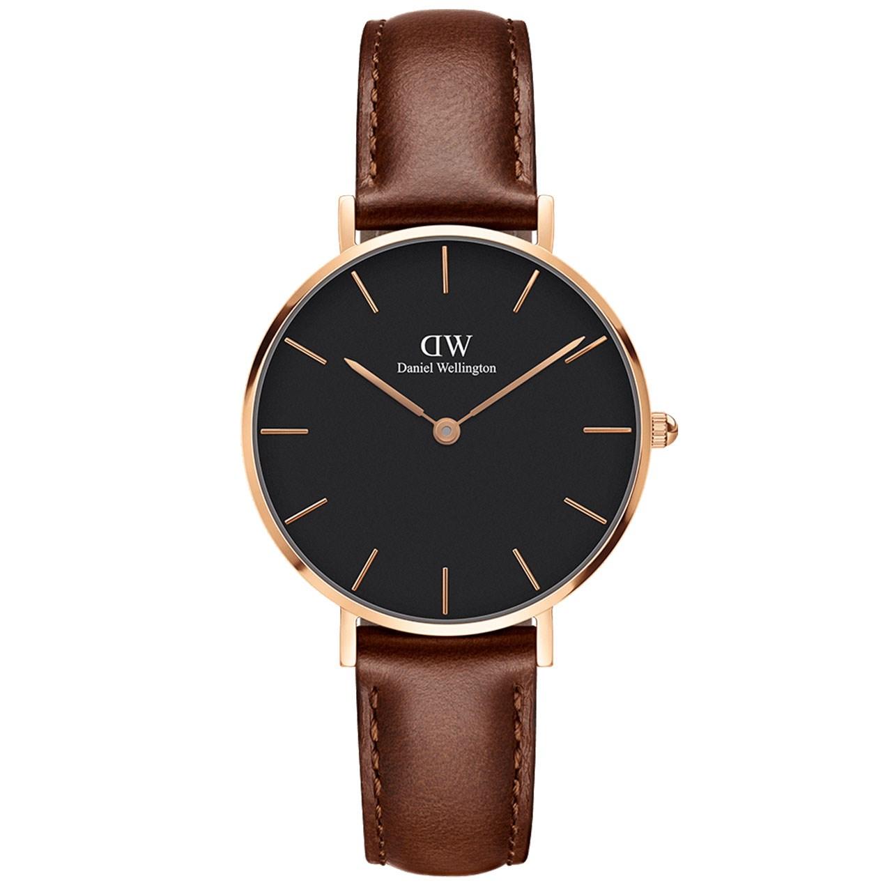 ساعت مچی عقربه ای زنانه دنیل ولینگتون مدل DW00100169