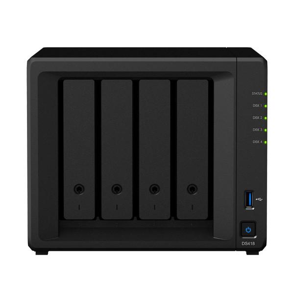 ذخیره ساز تحت شبکه 4Bay سینولوژی مدل دیسک استیشن DS418