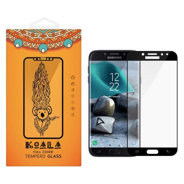 محافظ صفحه نمایش شیشه ای کوالا مدل Full Cover مناسب برای گوشی موبایل سامسونگ Galaxy J7 Pro