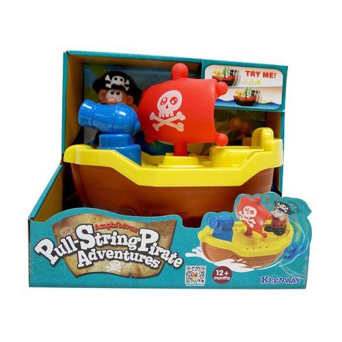 قایق اسباب بازی کین وی مدل Pull String Pirate 12275