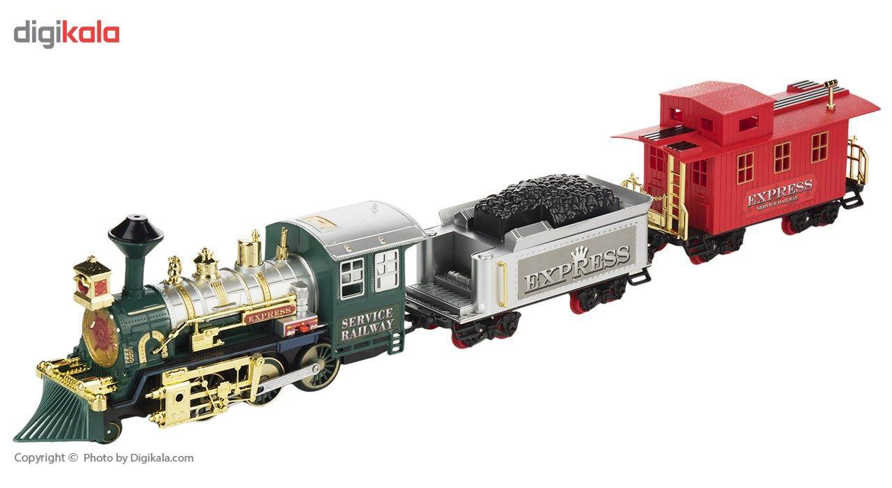 قطار بازی ژی شنگ تویز مدل Classic Train 159