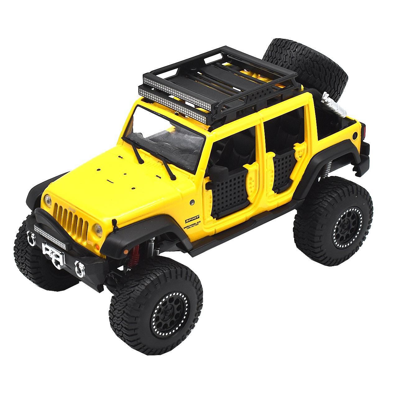 ماشین بازی مایستو مدل Jeep Wrangler Linlimited 2015