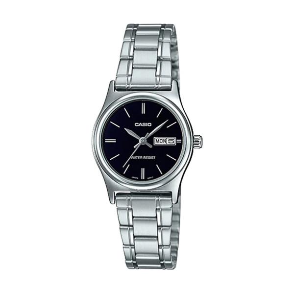 ساعت مچی عقربه ای زنانه کاسیو مدل LTP-V006D-1B2UDF