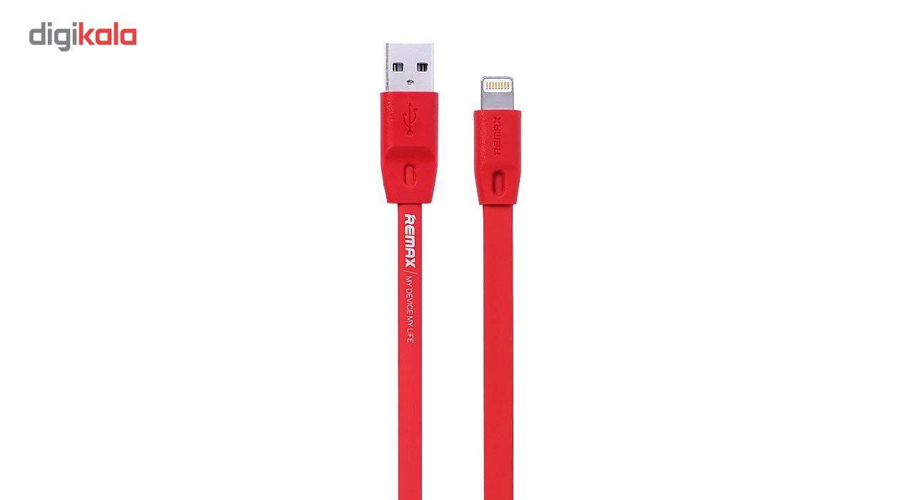 کابل تبدیل USB به لایتنینگ ریمکس مدل Full Speed طول 2 متر main 1 5