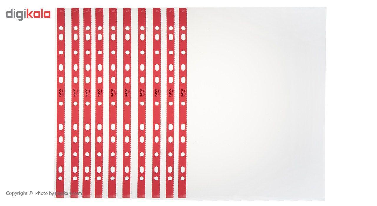 کاور کاغذ A4 پاپکو کد 11 بسته 100 عددی main 1 1