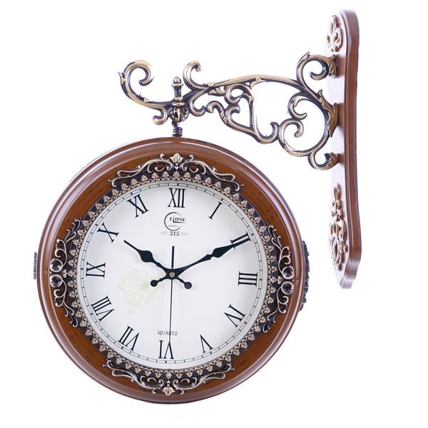 ساعت دیواری دو طرفه Elipse سایز بزرگ