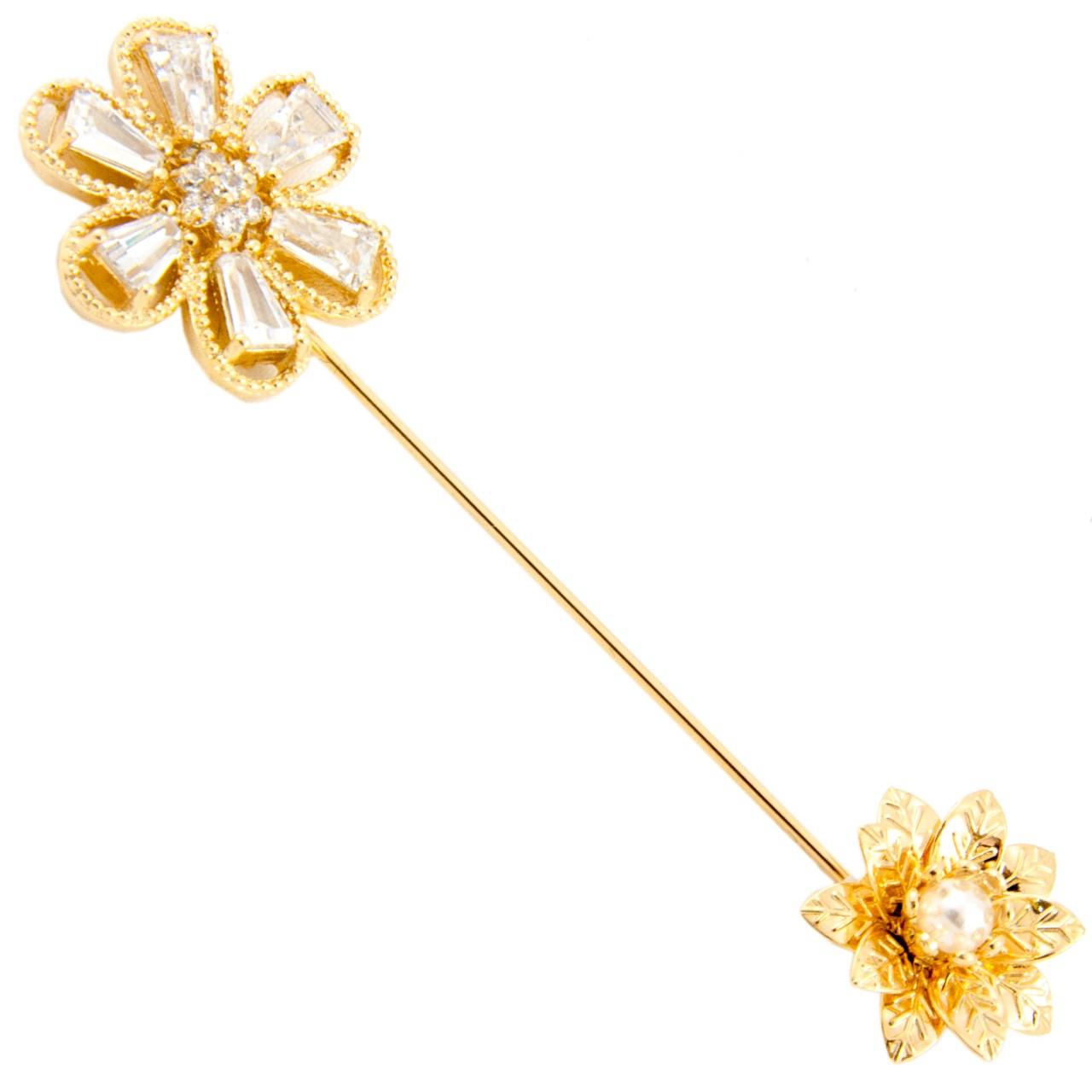 گل سینه ژوپینگ مدل Flower