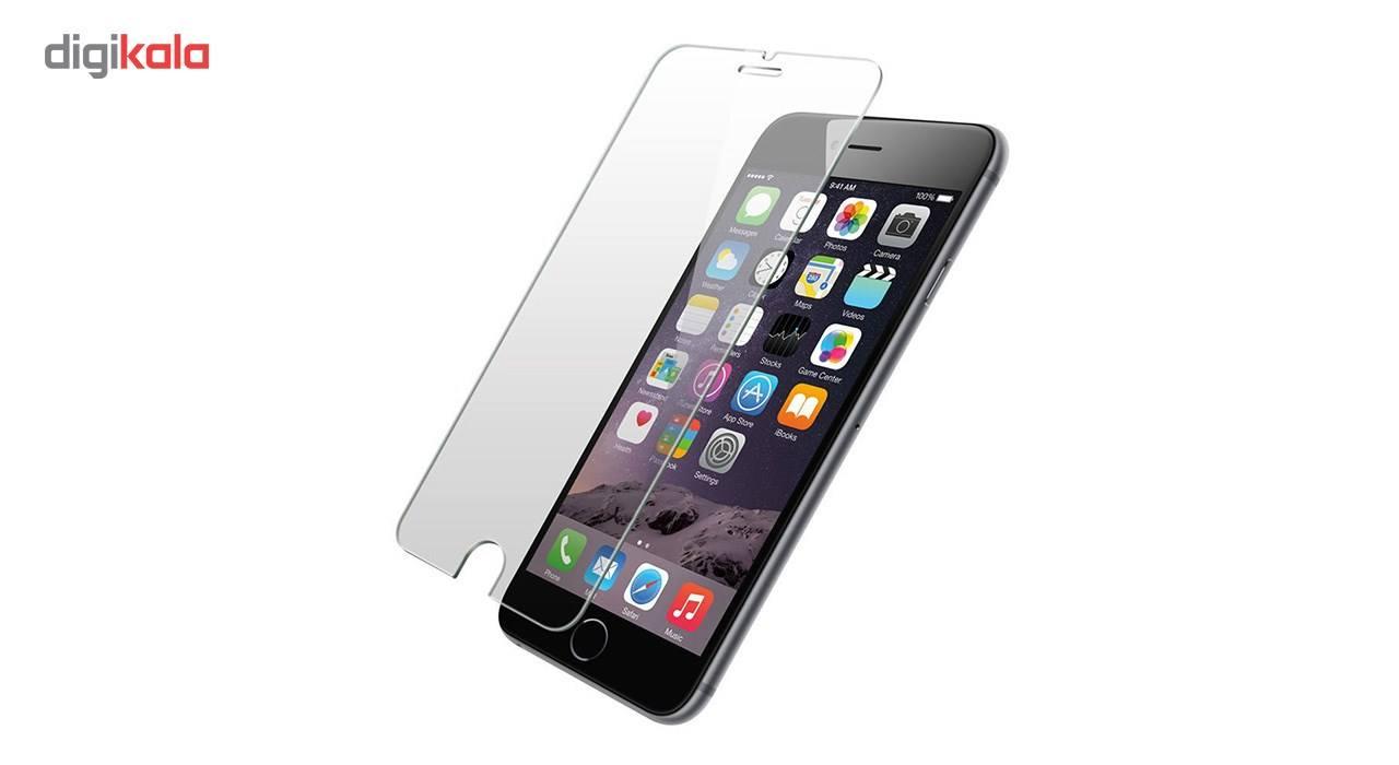 محافظ صفحه نمایش شیشه ای مدل تمپرد مناسب برای گوشی موبایل اپل آیفون 6/6s plus main 1 1