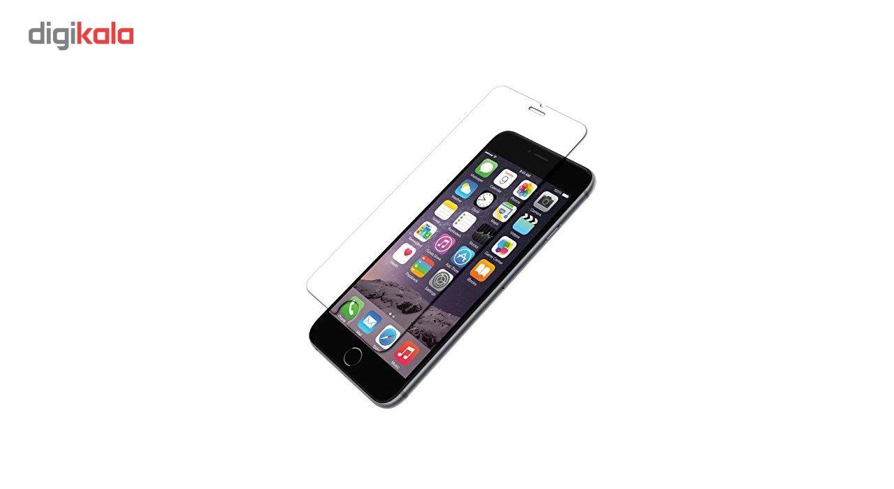 محافظ صفحه نمایش شیشه ای گلس مدل تمپرد مناسب برای گوشی موبایل اپل آیفون 6/6s plus main 1 2