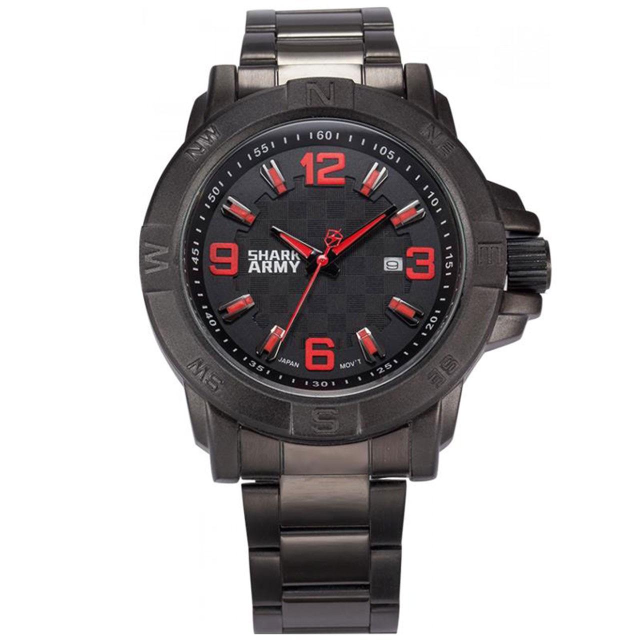 ساعت مچی عقربه ای مردانه شارک آرمی مدل Saw147