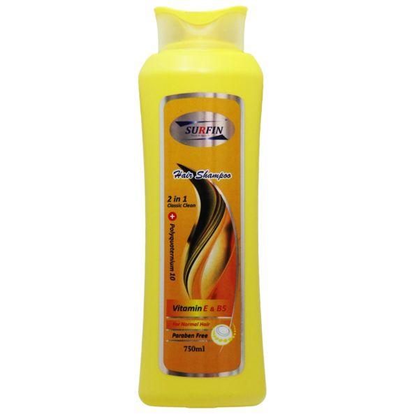 شامپو خانواده مخصوص موی معمولی سورفین حجم 750 میلی لیتر