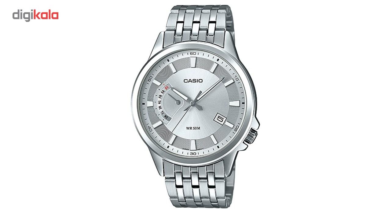 خرید ساعت مچی عقربه ای مردانه کاسیو مدل MTP-E136D-7AVDF