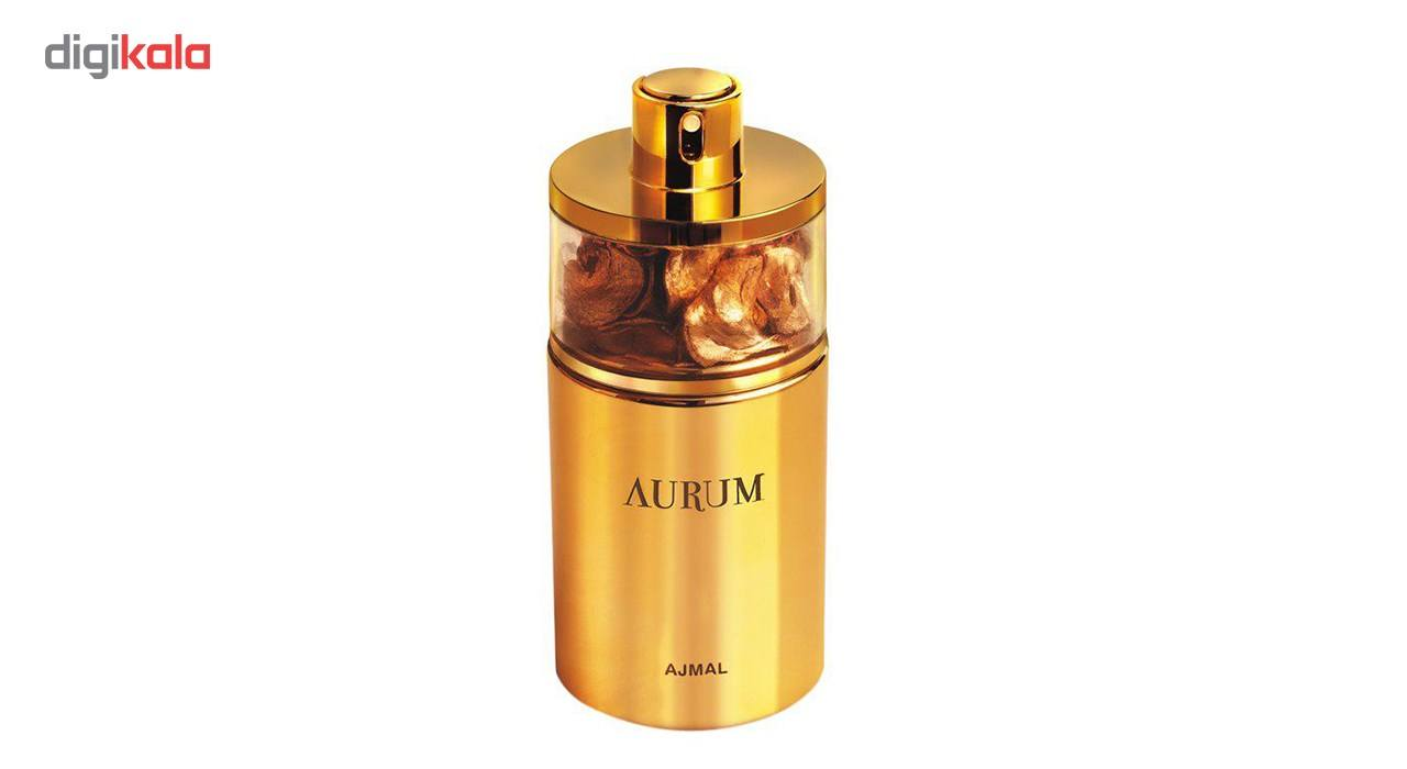 ادو پرفیوم زنانه اجمل مدل Aurum حجم 75 میلی لیتر  Ajmal Aurum Eau De Parfume For Women 75 ml
