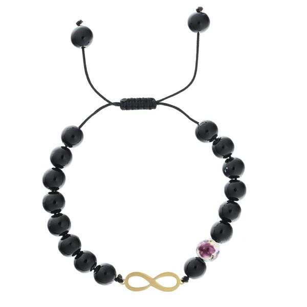 دستبند طلا 18 عیار ماهک مدل MB0313 - مایا ماهک