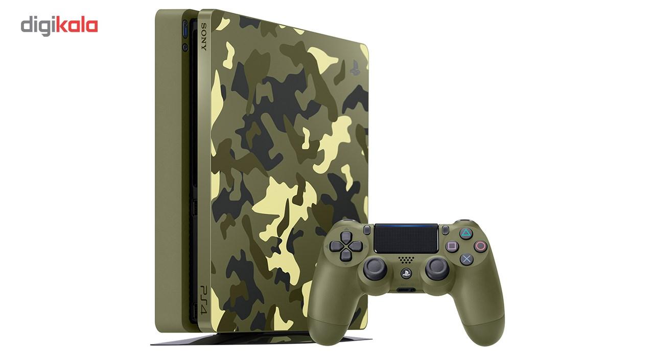 مجموعه کنسول بازی سونی مدل Playstation 4 Slim Call Of Duty Limited Edition Region 2 CUH-2116B - ظرفیت 1 ترابایت