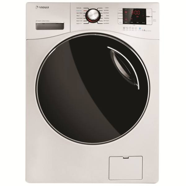 ماشین لباسشویی اسنوا مدل SWM-841 ظرفیت 8 کیلوگرم | Snowa SWM-841 Washing Machine 8Kg