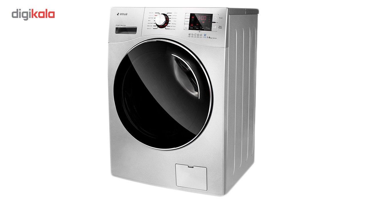 ماشین لباسشویی اسنوا مدل SWD-Octa S ظرفیت 8 کیلوگرم main 1 2