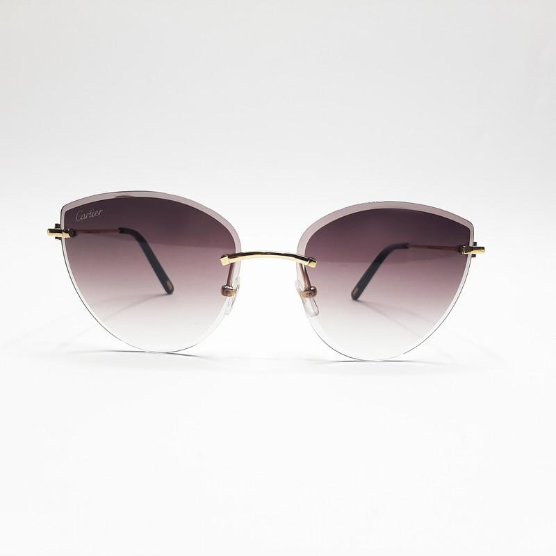 عینک آفتابی زنانه کارتیه مدل CT0003RS