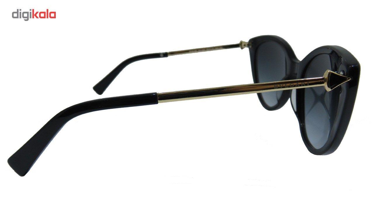 عینک آفتابی بولگاری مدل BV8195 501/8G 2N-Original 52 -  - 4