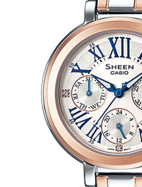 ساعت مچی عقربه ای زنانه کاسیو مدل SHE-3034SG-7AUDR -  - 3