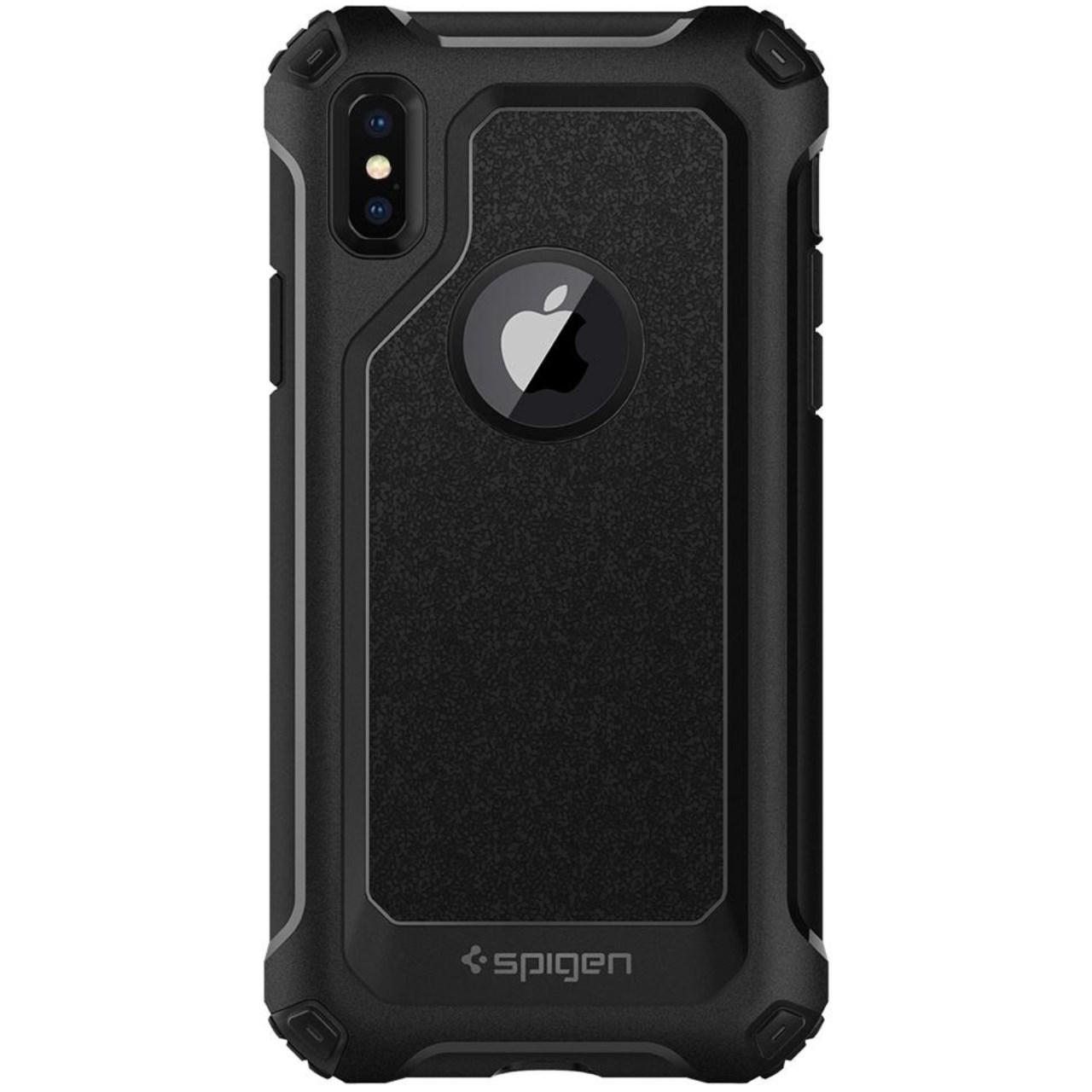 کاور اسپیگن مدل Pro Guard مناسب برای گوشی موبایل اپل iPhone X