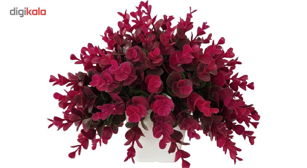 گلدان به همراه گل مصنوعی بخشی مدل SH313 main 1 2