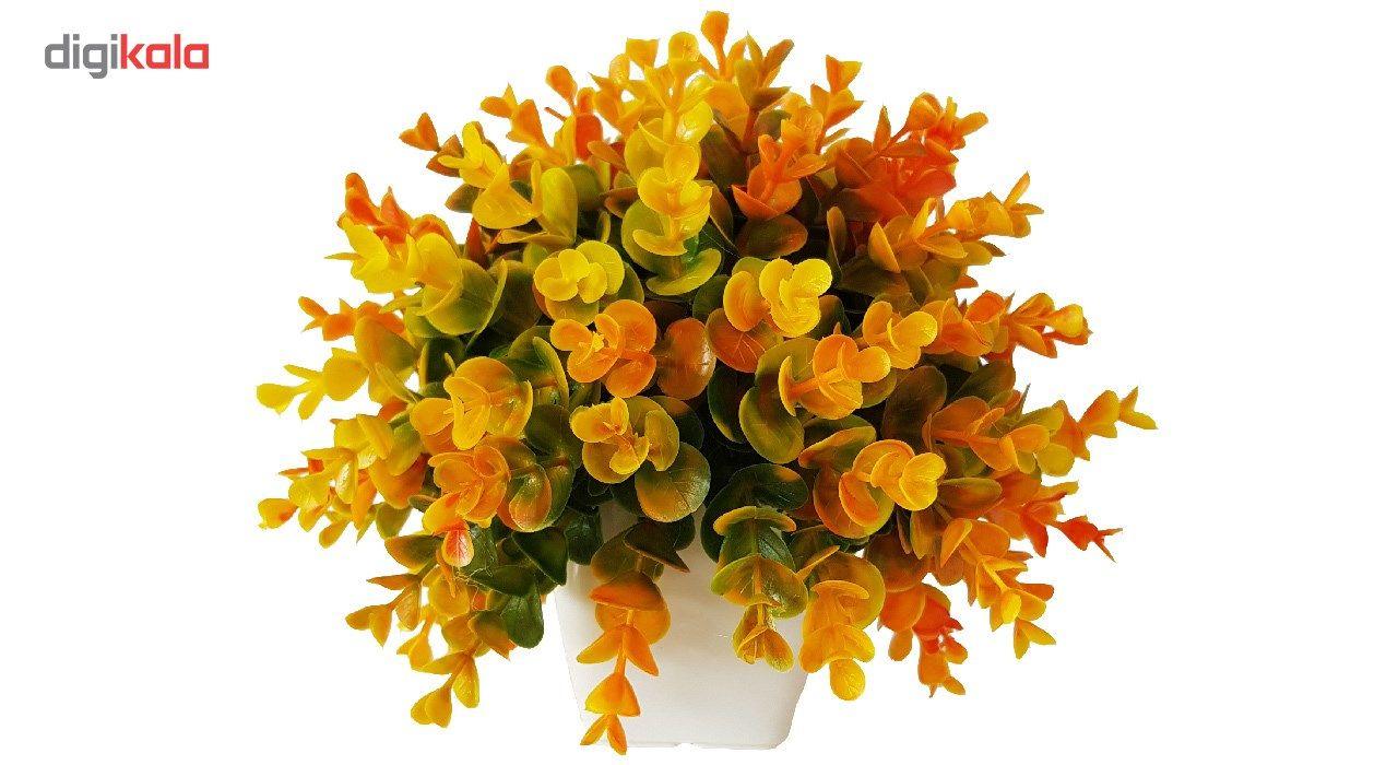 گلدان به همراه گل مصنوعی بخشی مدل SH313 main 1 5