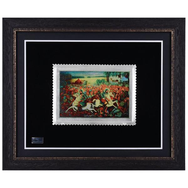 تابلو نقره گالری گنجینه طرح کربلا مدل 00-26