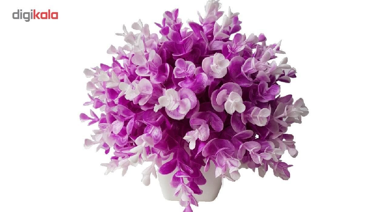 گلدان به همراه گل مصنوعی بخشی مدل SH313 main 1 6