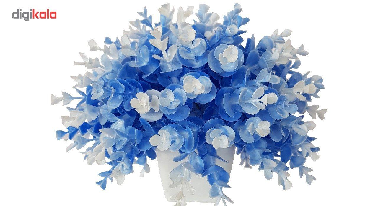 گلدان به همراه گل مصنوعی بخشی مدل SH313 main 1 7